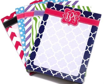 Monogram Notepad - Personalized Memo List Pad - Design Your Own [DYO]