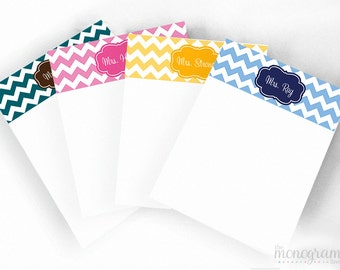 Design your own DYO 5 x 7 Monogram Notepad