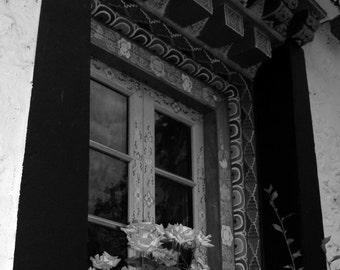 Window and Roses, Lachung, N. Sikkim 2007