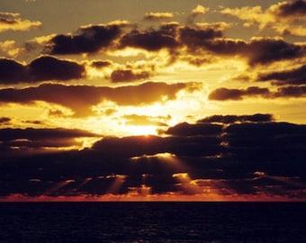Golden Sunrise, Hutchinson Island, 2001