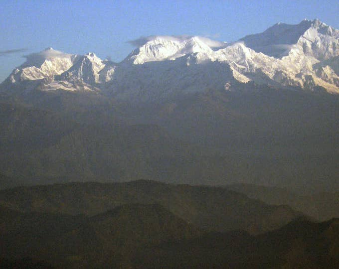Darjeeling Sunrise, Tiger Hill, West Bengal, India 2007