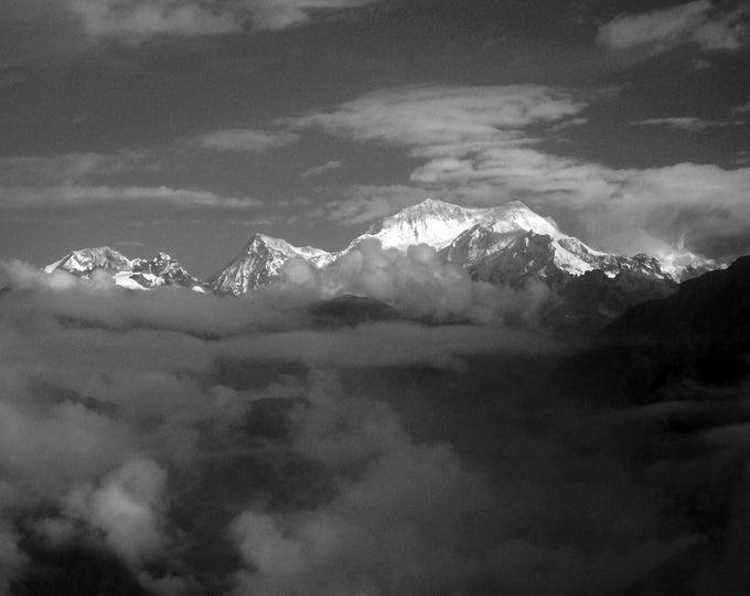 Kangchenjunga  I b & w.....