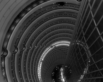 Looking to the Lobby, Jin Mao Tower, Pudong, China