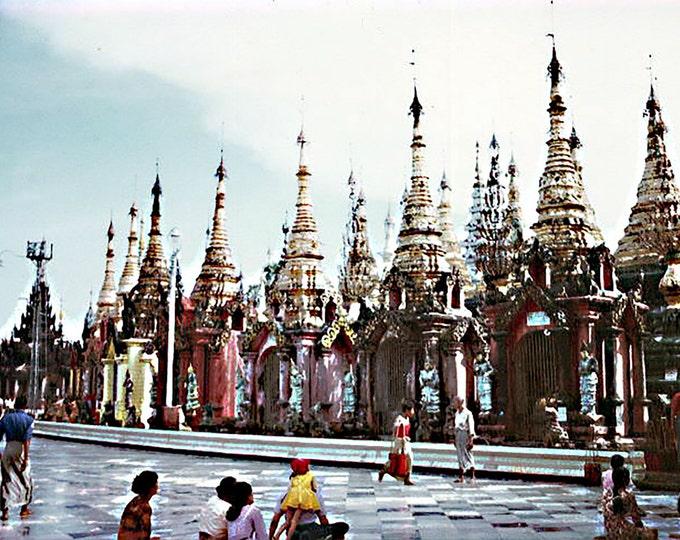 Shwedagon Pagoda II, Rangoon, Burma 1979