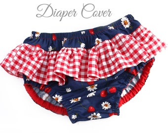 Diaper Cover pattern, Nappy cover pattern, Baby Sewing Pattern PDF, Ruffle Diaper Cover Pattern, PDF Sewing Pattern, ALICE pattern