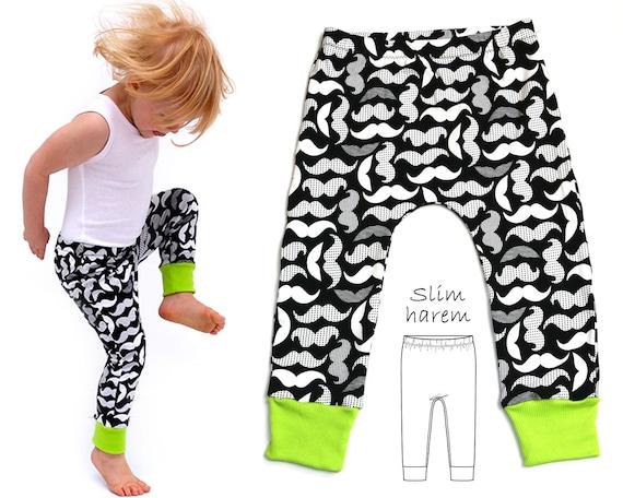 Leggings Pattern Harem Pants Pattern Harem Leggings | Etsy