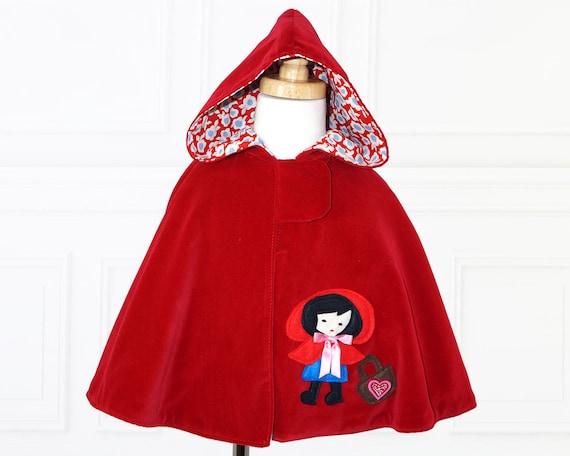 Cape Pattern Girls PDF Sewing Pattern Costume Pattern Girls Etsy Best Kids Cape Pattern
