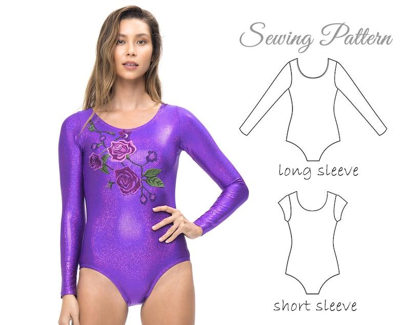 Leotard Pattern WOMENS Ladies Gymnastics leotard pattern  520d74d60