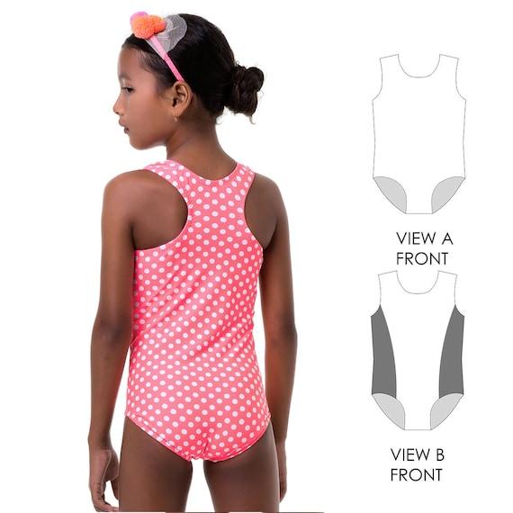 Swimsuit Patterns Leotard Pattern Swimwear Sewing Pattern Etsy Extraordinary Leotard Pattern