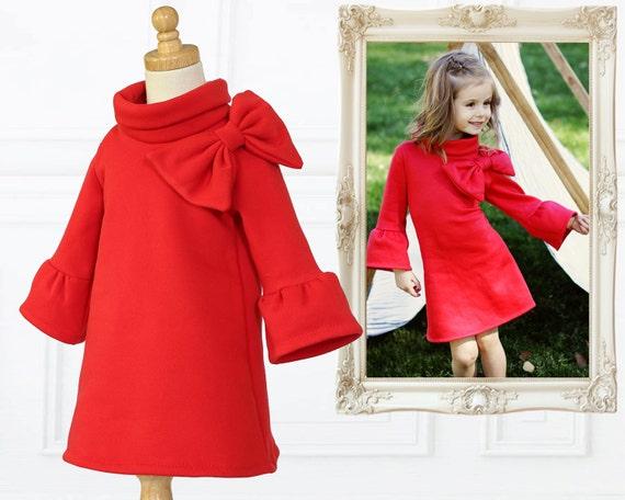 Childrens Sewing Pattern pdf, Girls Dress Pattern pdf, Tunic Pattern ...