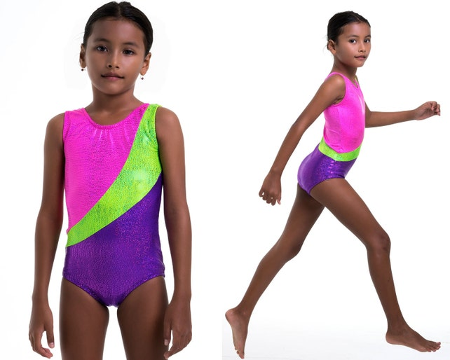 Girls Leotard Pattern Pdf Ballet Leotard Pattern Gymnastics Etsy