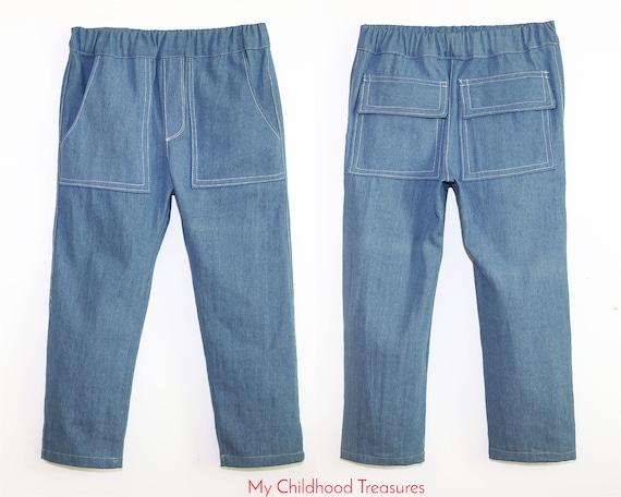 Pants Pattern Boys Sewing Pattern Pdf Boys Pants Pattern Etsy