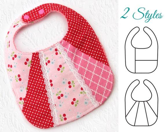 Bib Pattern baby bibs pattern Baby sewing pattern Baby Bib   Etsy