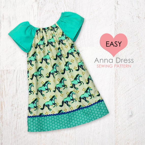 Very Easy Baby Sewing Pattern Pdf Baby Dress Pattern Baby Etsy