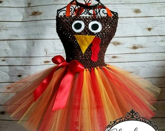 cdcfb692e7d Turkey tutu dress