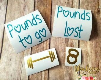 Pounds lost | Etsy