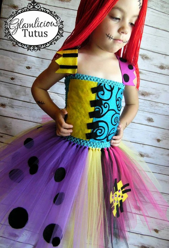Nightmare Before Christmas Sally Tutu Dress