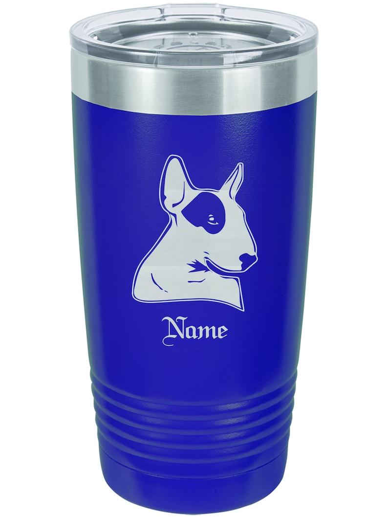 Bull Terrier Bull Terrier Christmas Gifts Bull Terrier Dog Gifts Personalized Bull Terrier Insulated Tumbler
