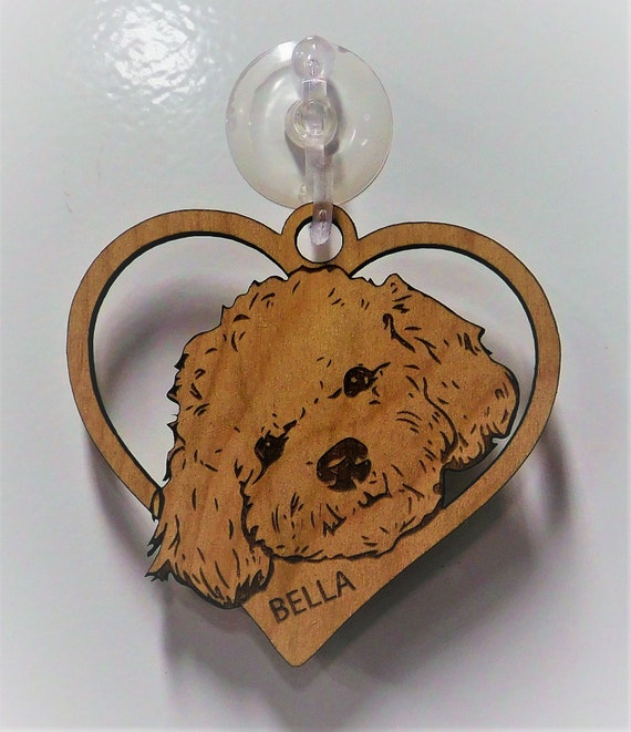 Bichon Frise, Bichon Frise Gift, Dog Gift, Dog heart Ornament, Mothers Day  Gift, Custom Dog Ornament, Personalized Ornament