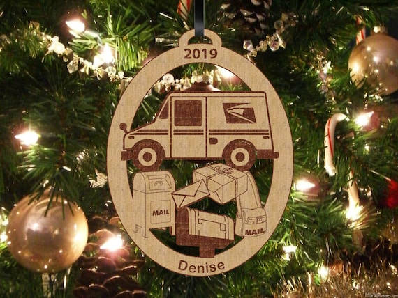 Mail On Christmas Eve 2019.Mail Carrier Ornament Mailman Ornament Christmas Ornament Personalized Ornament Handmade Ornament Mail Carrier Gift Personalized