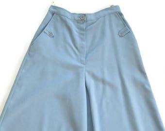 Baby Blue Gaucho Pants Bobbie Brooks  Union Made