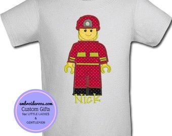 Fireman Lego