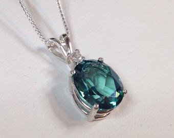 Green sapphire ring etsy aloadofball Choice Image