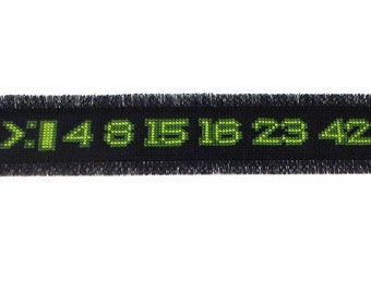 Cross stitch pattern of Lost numbers