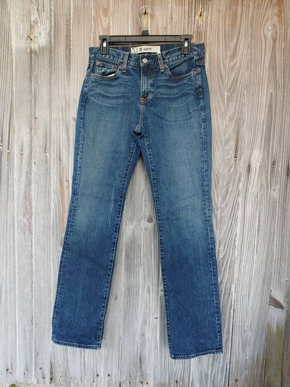 Vintage Gap. Slim Fit. Stretch.  1990s. Made in US
