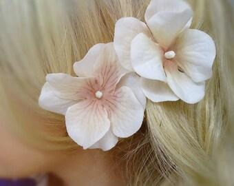 Cream Hair Flower Set, Hair Flower, Cream Hair Clip, Bridal Hair Flower, Wedding Hair Flower, Bridal Hair Clip, Hair Flowers