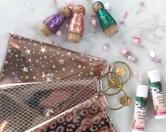 Glitter Princess Bag + Lip Balm