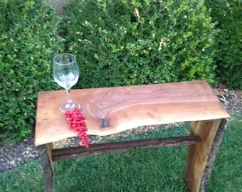 Live Edge Slab End Tables and Stands
