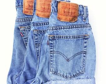 7798b3b4 Levi's shorts High Waisted Cuffed Denim shorts Sizes US 0 - 20 Womens