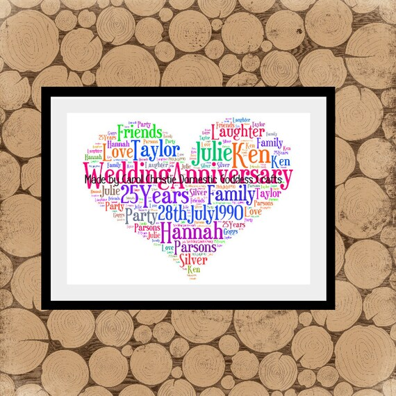 Valentines Gift Love Heart Word Art Heart Wordle Love Heart  26e58e3a4