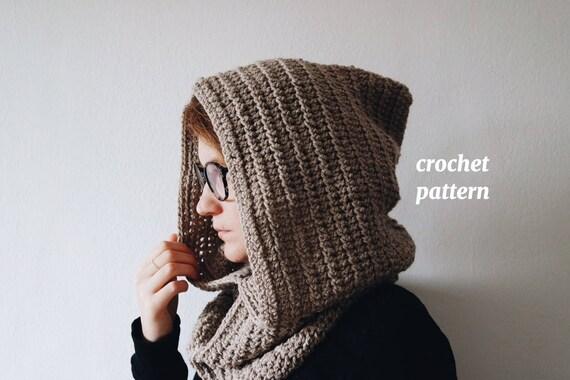 Maxi Crochet Hood Pattern For A Crochet Pixie Hood Etsy