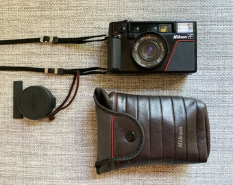 Nikon L35 AF Point and Shoot Autofocus 35 mm Camera