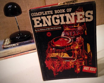 Vintage Complete Book of Engines Number 1 - Hot Rod Magazine