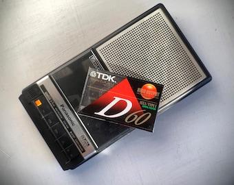 Vintage Panasonic Cassette Player - SlimLine Series Like General Electric or Sony