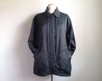 vintage chore jacket vintage womens barn coat 90s oversized eddie bauer