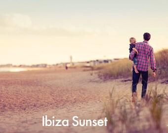 Ibiza Sunset - Photoshop Action INSTANT DOWNLOAD