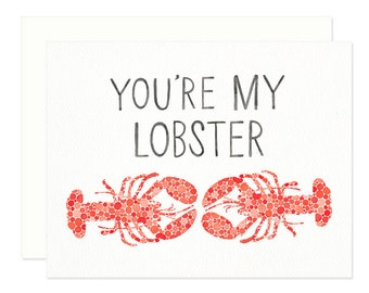 You're My Lobster Greeting Card - Best Friend - Friends TV Show