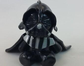 Polymer clay inspired Darth Vader figurine