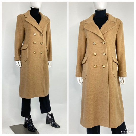 Vintage 60's classic 100% camel hair wool double b