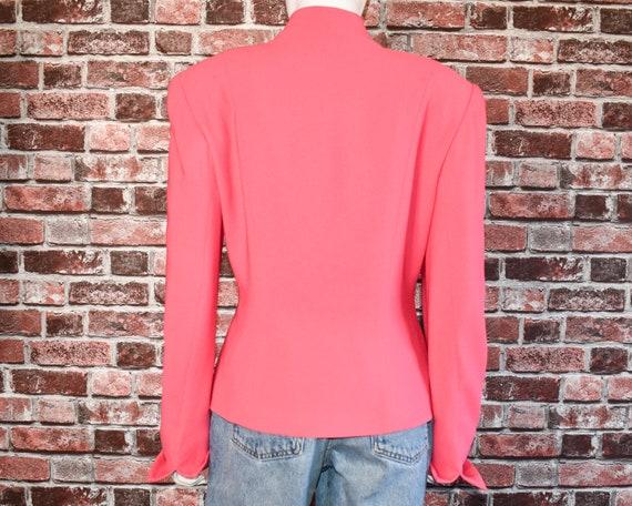 Vintage Christian dior pink blazer - image 5