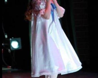 Satin Nutcracker Gown  606 - sizes 2 through 16 - custom-made - Clara  costume 531ebb245