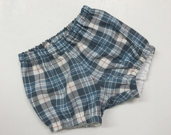 Classic Plaid Diaper Cover #503, Baby Photo Prop, made in USA, photo prop