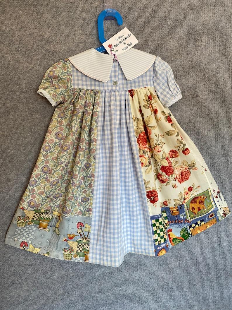 Little girls old-fashioned dress