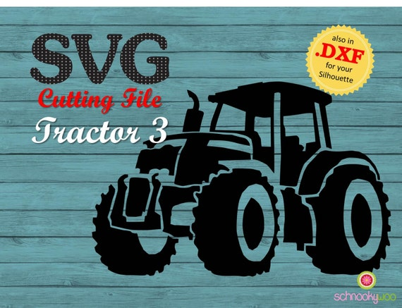 Tractor Svg Farm Tractor Svg Design Tractor Traktor Farm Etsy