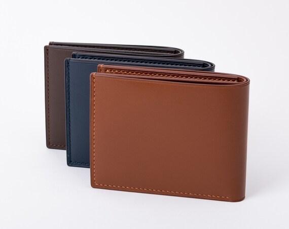 Super Slim Hand-stitched Billfold Wallet
