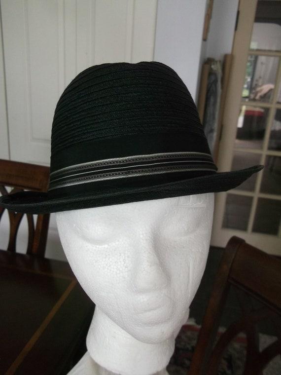 Men's Trilby Hat Straw Trilby Hat